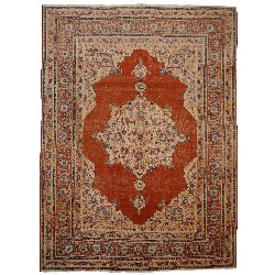 Hadj Jalili Tabriz antique persian rug