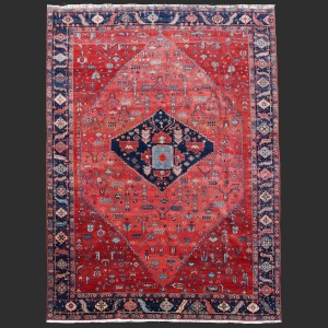 Persian Rug Heriz Bakhshayesh Antique oversized