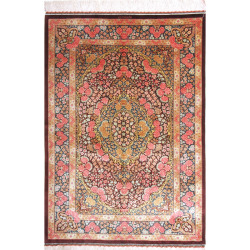 Qum Silk Rug - we ship to New York, Los Angeles, Dubai, Singapore
