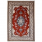 Preview: Nain 6 la rug Iran / Persia 5.6 x 3.8 ft / 170 x 115 cm beige, red, blue