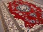 Preview: 10774 Nain 6 la rug 5.6 x 3.8 ft / 170 x 115 cm beige, red, blue