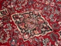 Preview: 12 x 9 ft persian rug sarouk vintage antique red blue 13569