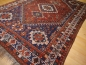 Mobile Preview: 13871 Qashqai antique tribal persian rug 9.8 x 6.9 ft / 298 x 210 cm