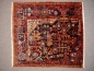 Preview: 14455 Nahawand vintage wagierh sampler rug Iran / Persia 3.6 x 3.3 ft / 110 x 100 cm