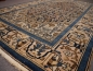 Preview: 14609 Malayer antique rug 6.7 x 4.4 ft / 205 x 135 cm blue beige
