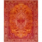 Preview: 14671 Kashan rug India 9.8 x 8.2 ft / 300 x 250 cm
