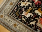 Preview: 14740 Qum Silk Hunting Rug 5.6 x 3.5 ft / 155 x 107 cm