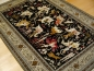 Preview: Qum Silk Hunting Rug 5.6 x 3.5 ft / 155 x 107 cm Persian