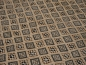 Preview: 14806 Berber Kilim rug vintage 8 x 5.5 ft / 240 x 162 cm Beige - Grey - Brown