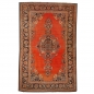 Preview: Rug Worn to perfection Persian Rug Kashan antique fine 6.7 x 4.3 ft ft / 205 x 132 cm