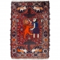 Preview: Lion Wedding Rug 5.5 x 3.6 ft - 166 x 112 cm