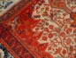 Preview: 14953 Malayer worn to perfection antique rug 6.3 x 4.4 ft / 188 x 133 cm Beige Red Green