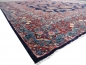 Preview: Mohajeran Sarouk antique rug 17 x 12 ft / 510 x 365 cm Blue Rose Beige Turquoise