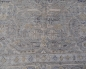 Preview: 15376 Design Rug Durva 8 x 10 ft Wool Bamboo Silk Grey Beige Blue