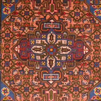 12645 Songhor rug Iran / Persia 4.7 x 3.4 ft / 142 x 103 cm