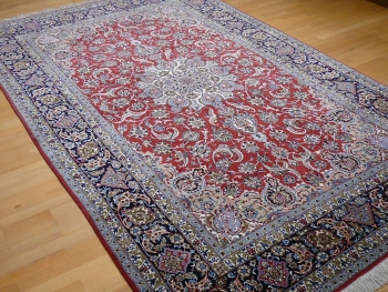 13592 Isfahan / Esfahan rug Kurkwool and silk 10.9 x 6.6 ft / 331 x 201 cm