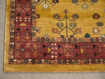 14007 Loribaft rug hand knotted 8 x 6, ft / 245 x 174 cm