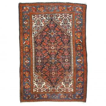14322 Malayer antique rug Iran / Persia 6.1 x 3.9 ft / 185 x 120 cm