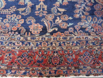 Sarouk antique rug Iran / Persia 19.2 x 11.2 ft / 585 x 342 cm