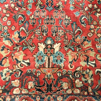 14999 Sarouk Mahal 12.2 x 9 ft 370 x 275 cn antique rug