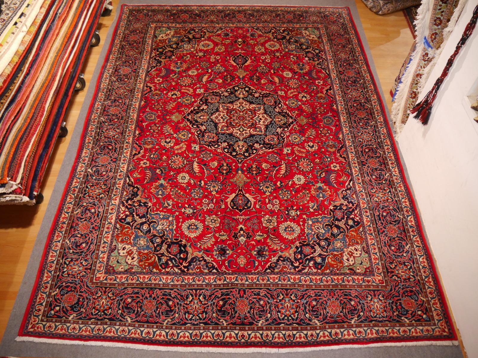 10464 Ghiasabad Sarouk Persian Rug 12 3 X 8 7 Ft 375 X