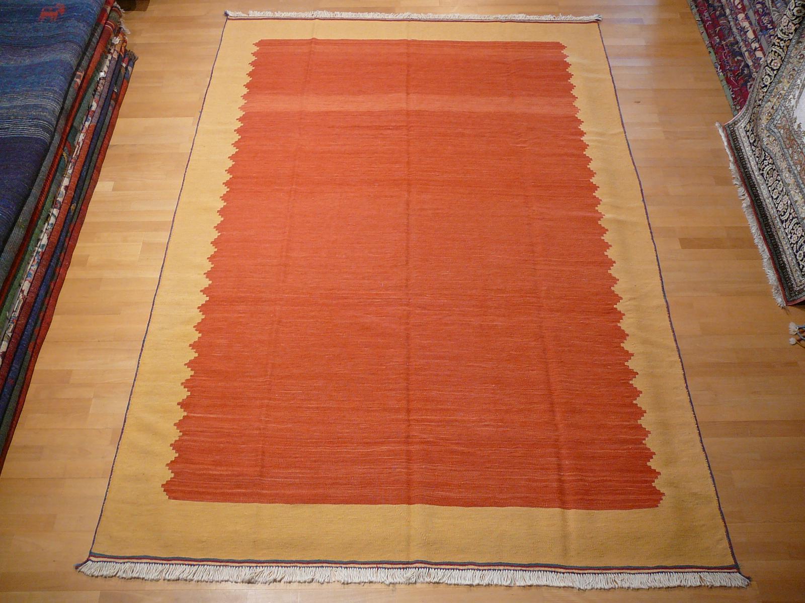 12918 kilim rug iran persia 9 7 x 6 5 ft 296 x 199 cm persian rugs oriental rugs silk. Black Bedroom Furniture Sets. Home Design Ideas