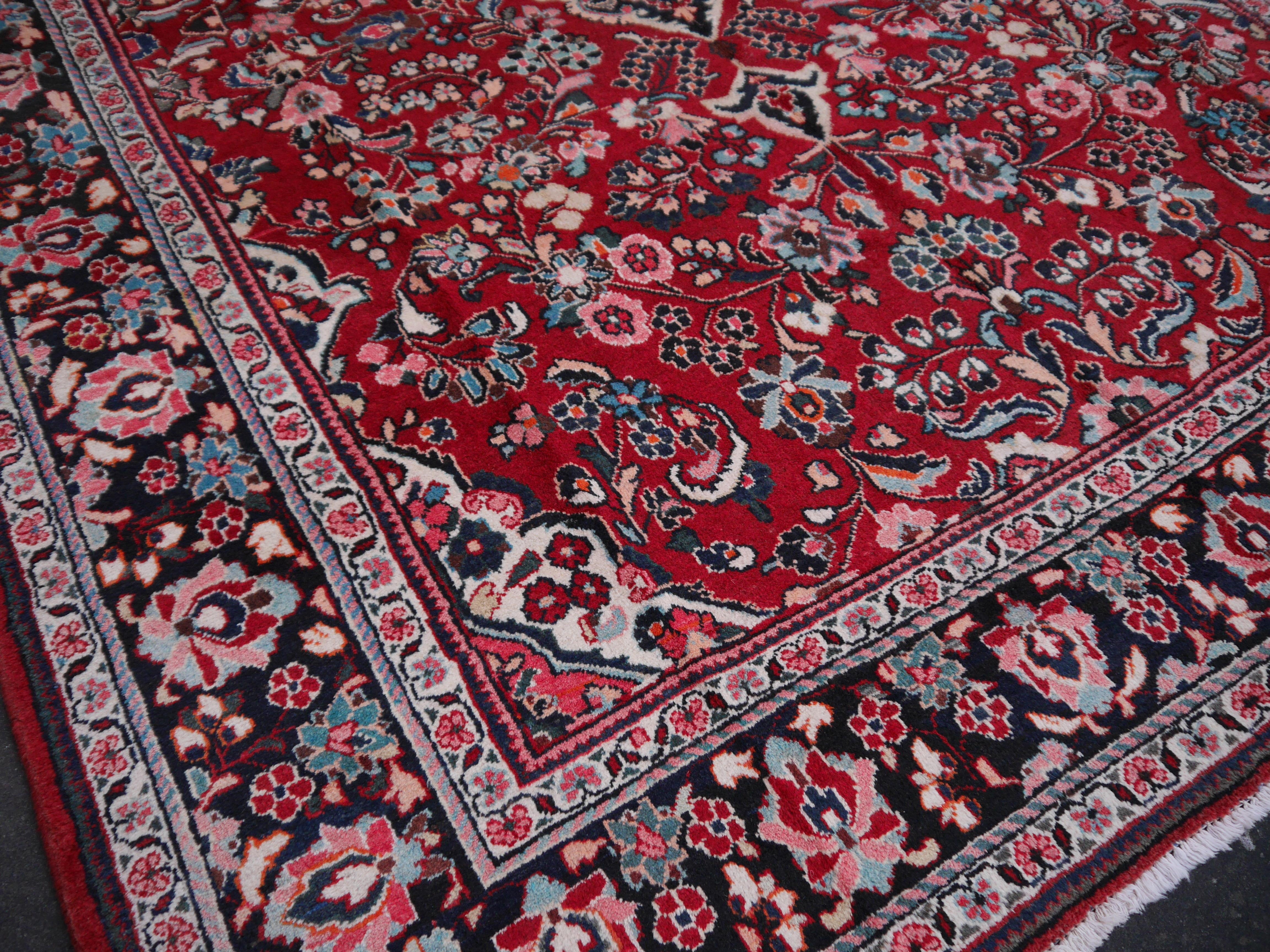 13569 Sarouk 12 7 X 9 Ft 386 X 274 Cm Vintage Persian Rug
