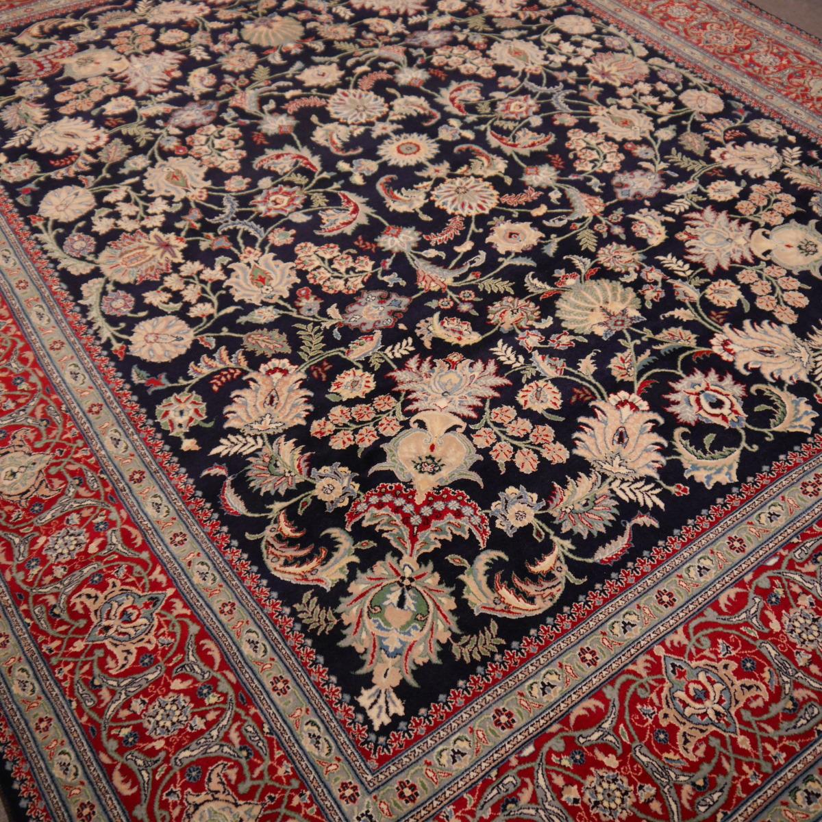 13909 isfahan teppich 300 x 240 cm sehr fein. Black Bedroom Furniture Sets. Home Design Ideas