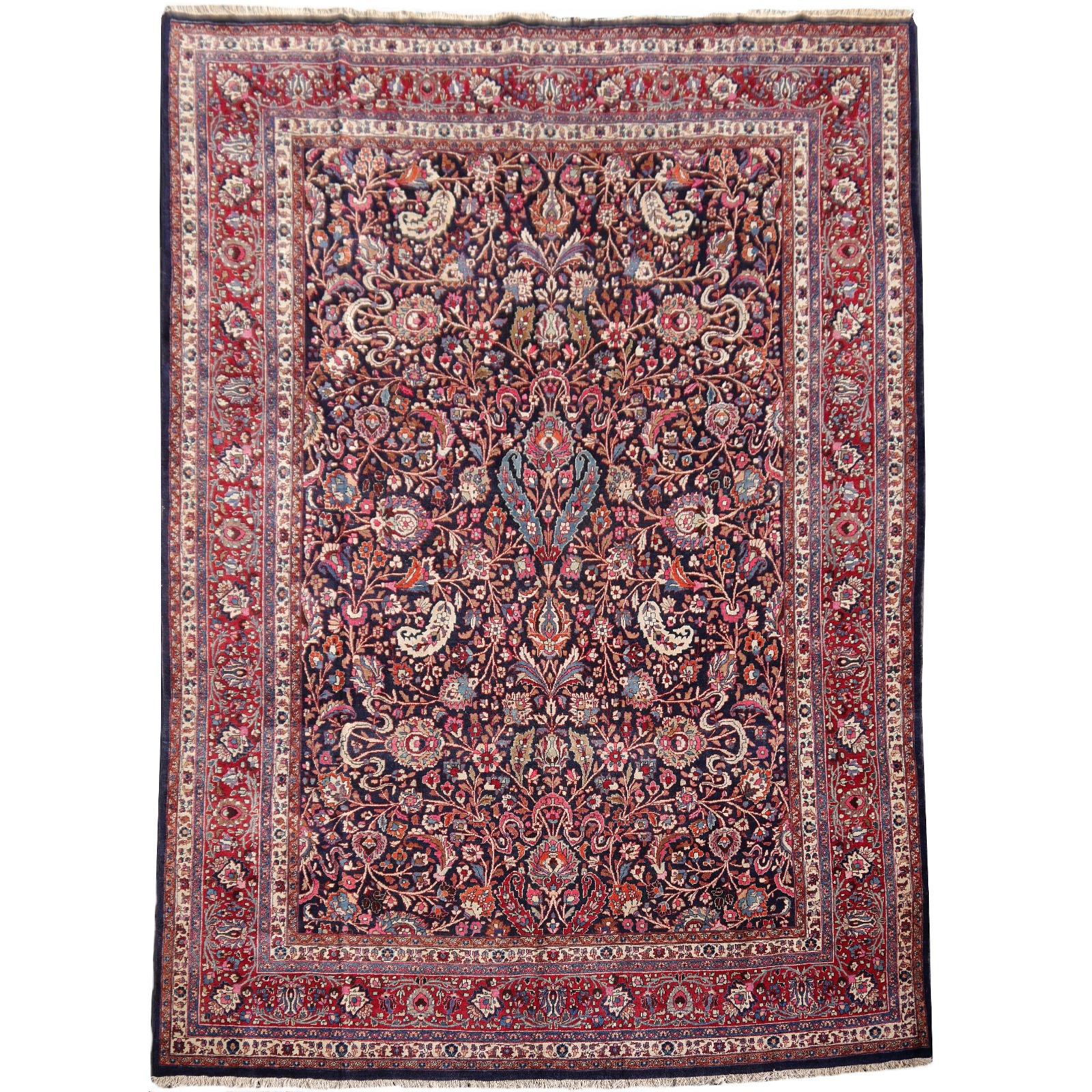 14324 mesched alt teppich iran persien 403 x 305 cm. Black Bedroom Furniture Sets. Home Design Ideas