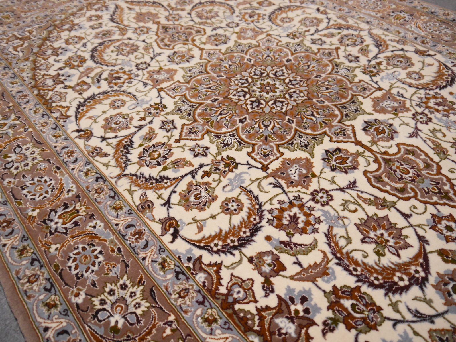 14427 Isfahan Perser Teppich 182 X 104 Cm