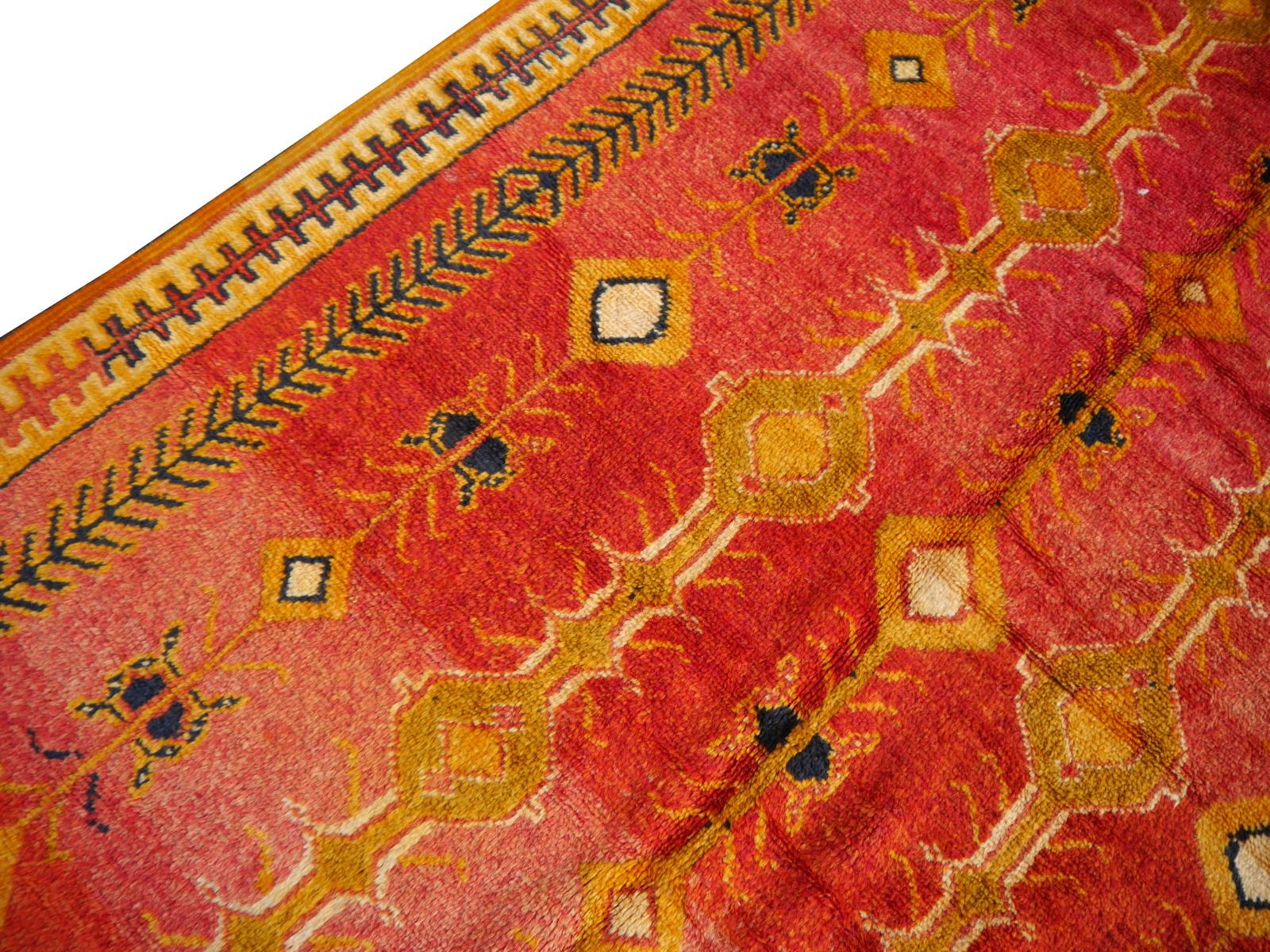 14540 Taznakht Vintage Teppich Marokko 300 X 150 Cm