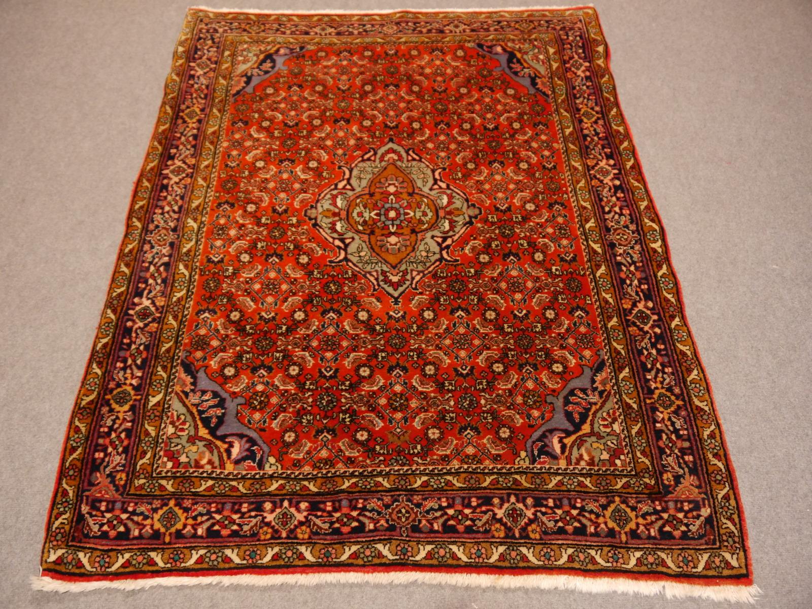 14567 bidjar rug iran persia 5 2 x 3 7 ft 159 x 114 cm. Black Bedroom Furniture Sets. Home Design Ideas