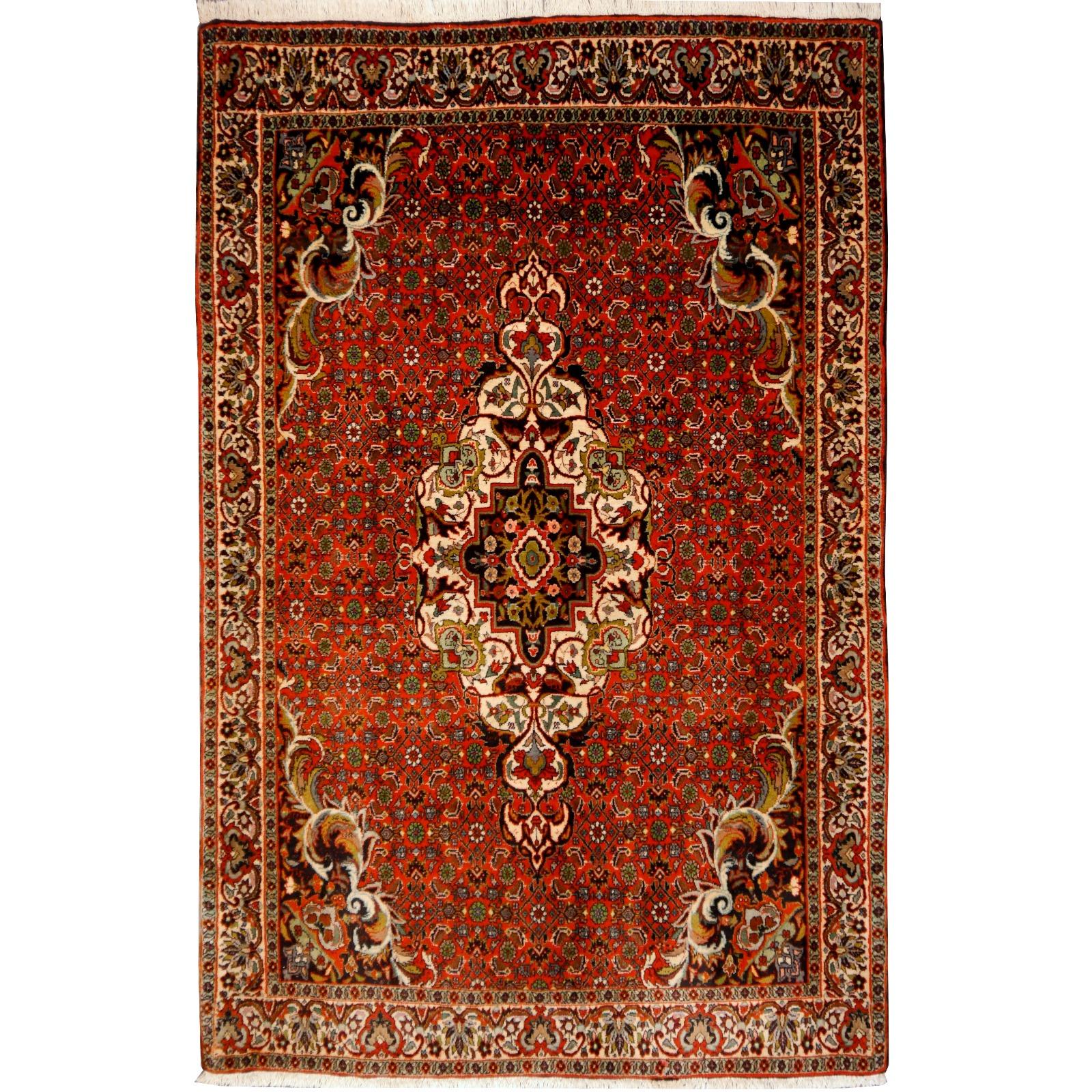 14569 Bidjar Teppich Iran Persien 170 X 110 Cm