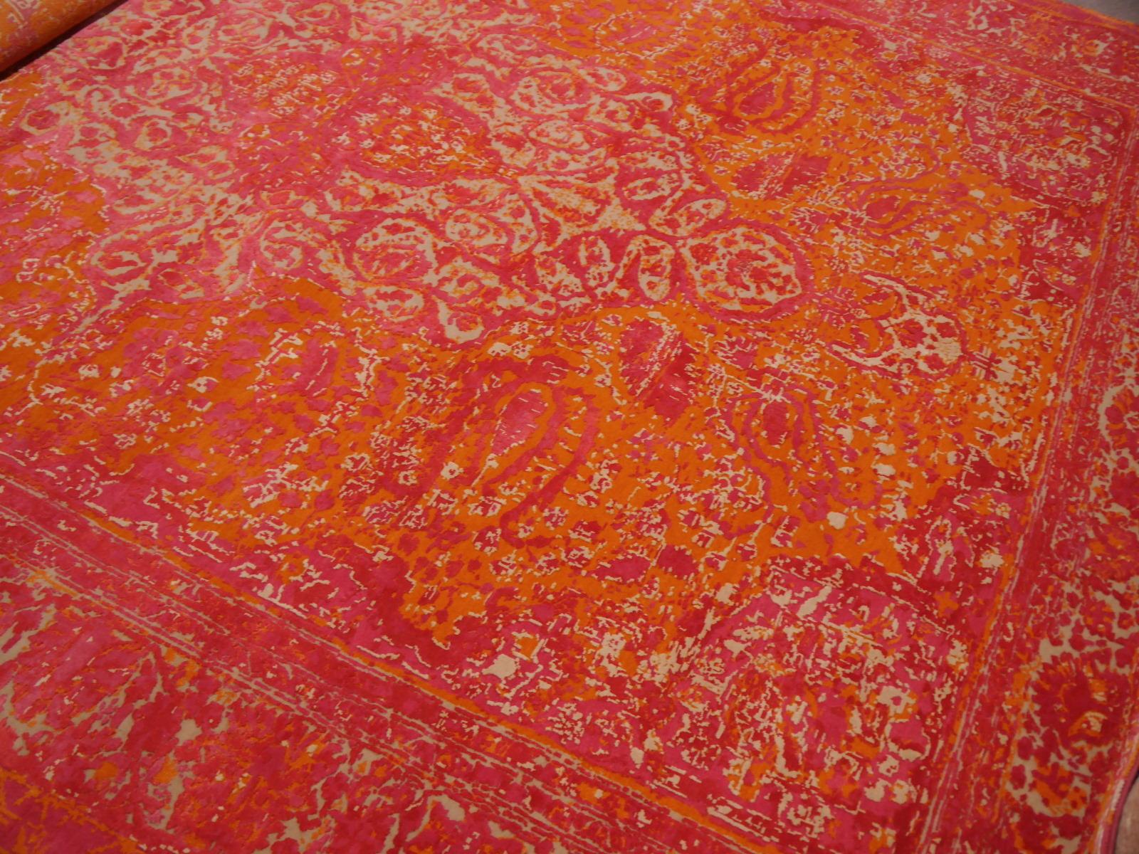 14671 kashan revival teppich seide wolle 300 x 250 cm. Black Bedroom Furniture Sets. Home Design Ideas
