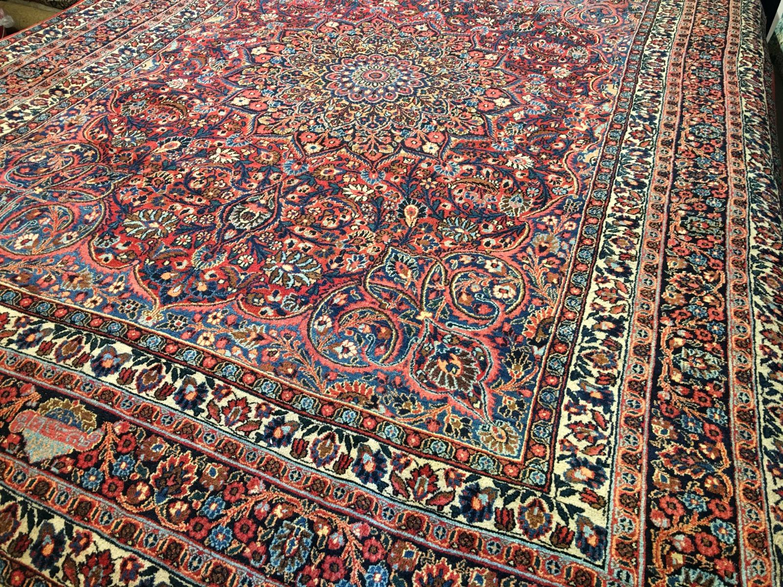 14696 Khorasan Doroksh Antique Persian Rug 11 4 X 8 6 Ft