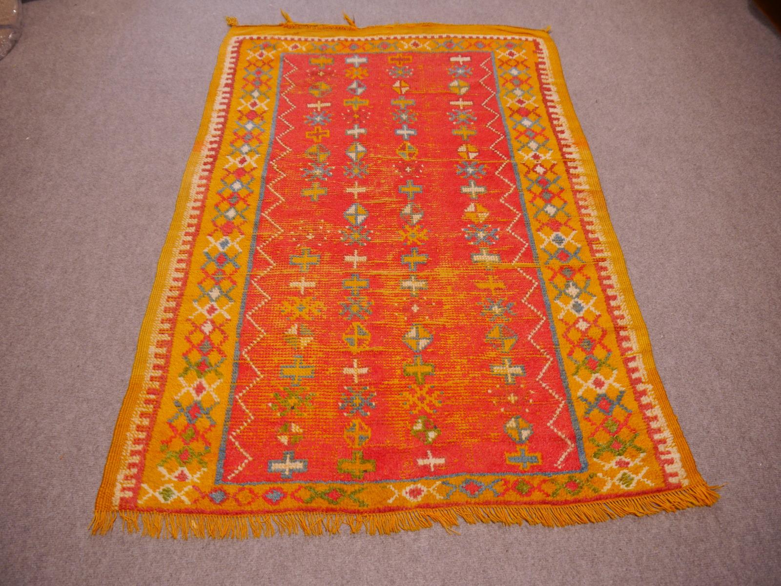 14741 taznakht vintage rug morocco 4 8 x 3 3 ft 146 x 100 cm. Black Bedroom Furniture Sets. Home Design Ideas