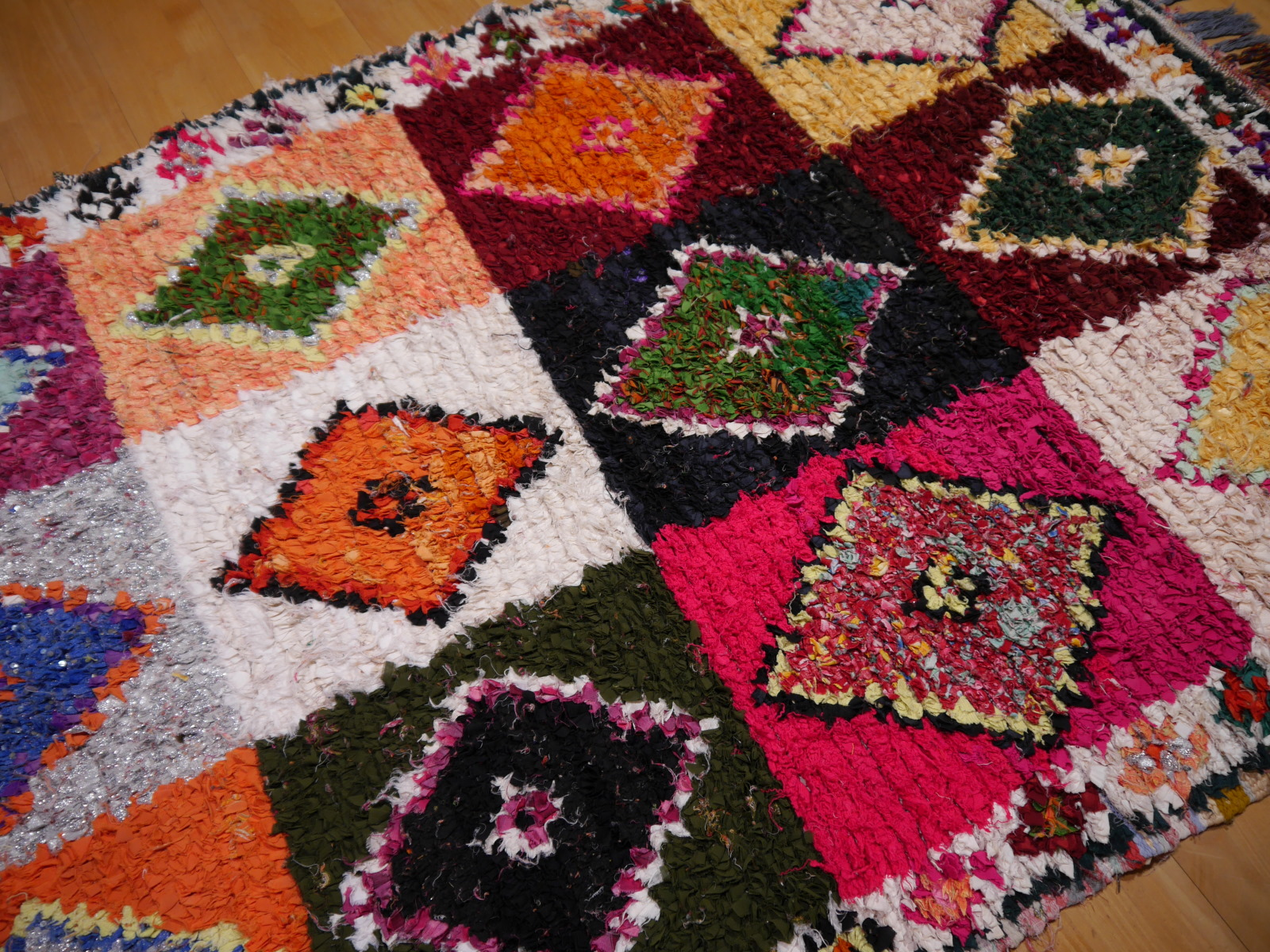14977 khozema 230 x 140 cm berber teppich marokko vintage. Black Bedroom Furniture Sets. Home Design Ideas