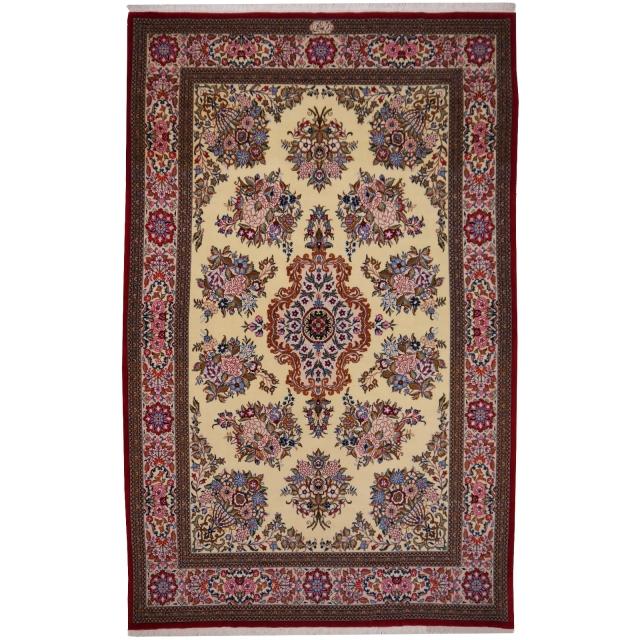 10476 ghom teppich iran persien 223 x 140 cm. Black Bedroom Furniture Sets. Home Design Ideas