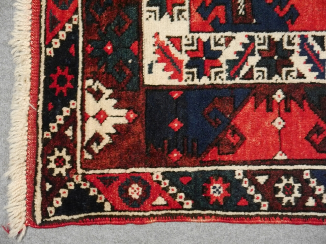 13411 Dosemealty vintage turkish rug 5.9 x 3.9 ft / 180 x 120 cm