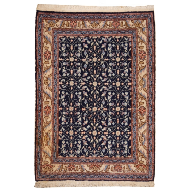 13515 Kayseri vintage rug Turkey 3.9 x 3 ft / 120 x 90 cm