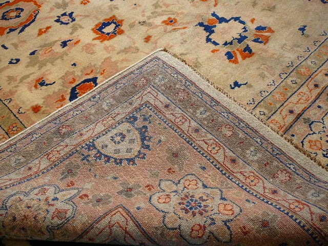 13860 Sultanabad Mahal rug 9.6 x 8 ft / 293 x 245 cm