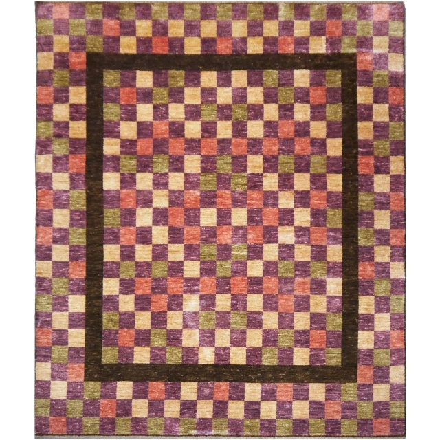 13889 Loribaft rug India 9.2 x 8.5 ft / 280 x 258 cm