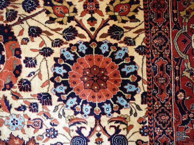 14100 agra vintage teppich indien 343 x 260 cm. Black Bedroom Furniture Sets. Home Design Ideas