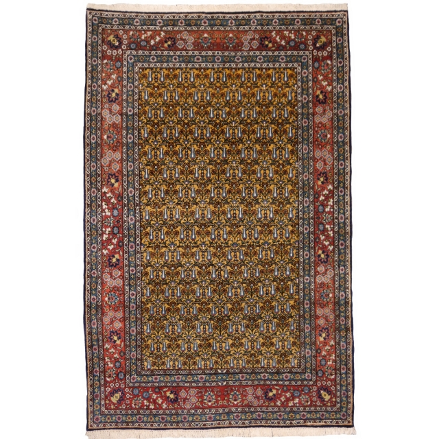 14736 Hereke rug Turkey 6.8 x 4.2 ft / 206 x 127 cm vintage