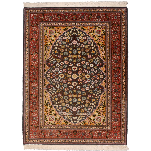 14737 Hereke 5.2 x 3.9 ft / 157 x 120 cm turkish vintage rug