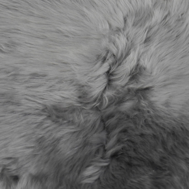 15118 Silver Gray Lambskin Premium 3 x 2 ft Sheepskin