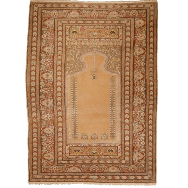 14962 Bandirma antique rug Turkey 5.7 x 4.1 ft / 173 x 126 cm