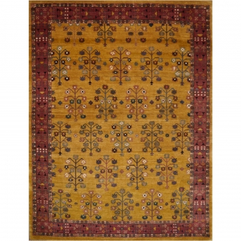 14003 Loribaft rug India 6.7 x 5.0 ft / 204 x 155 cm