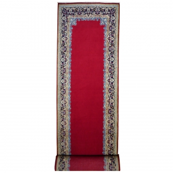 red carpet persian 16 ft runner kerman 14468