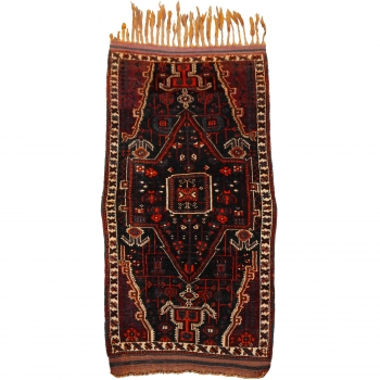 14547 Baharlu Loribaft antique rug 6.9 x 3.9 ft / 210 x 120 cm